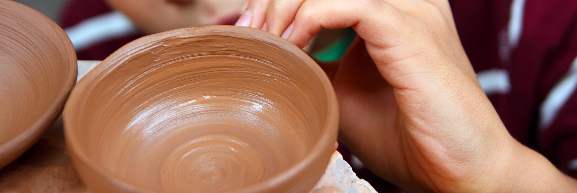 Lavorazione creativa dell'argilla