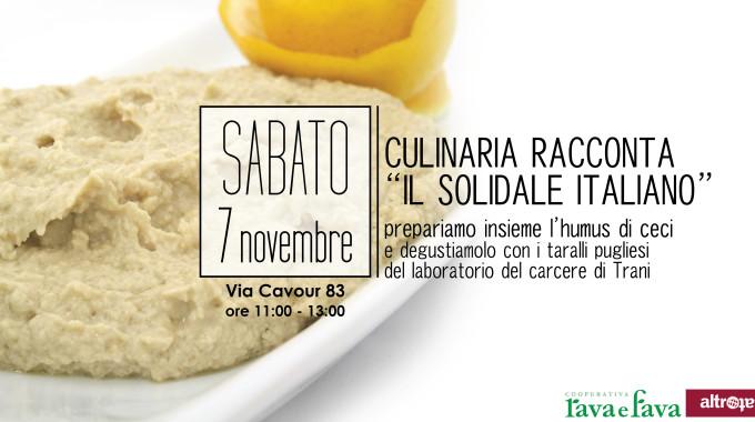 Banner Culinaria Solidale Italiano RavaFava 01