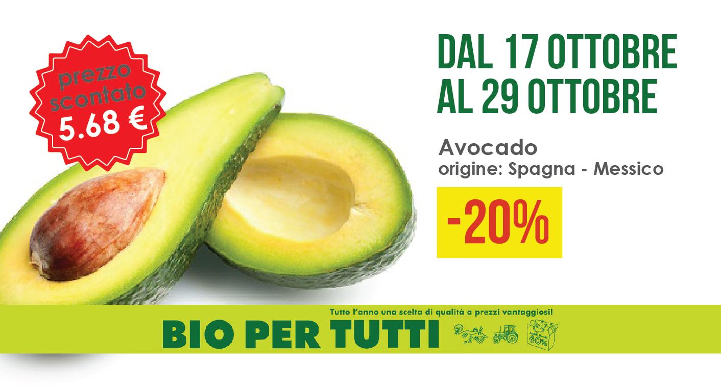 Offerte Bio Per Tutti Dal 17 Ottobre Al 29 Ottobre: Avocado