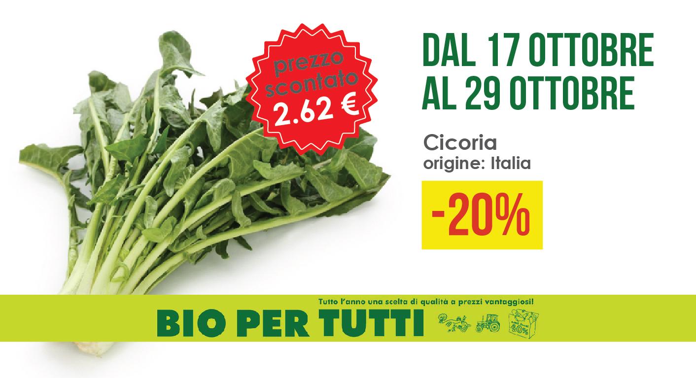 Offerte Bio Per Tutti Dal 17 Ottobre Al 29 Ottobre: Cicoria