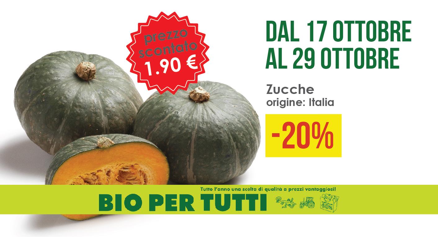 Offerte Bio Per Tutti Dal 17 Ottobre Al 29 Ottobre: Zucche