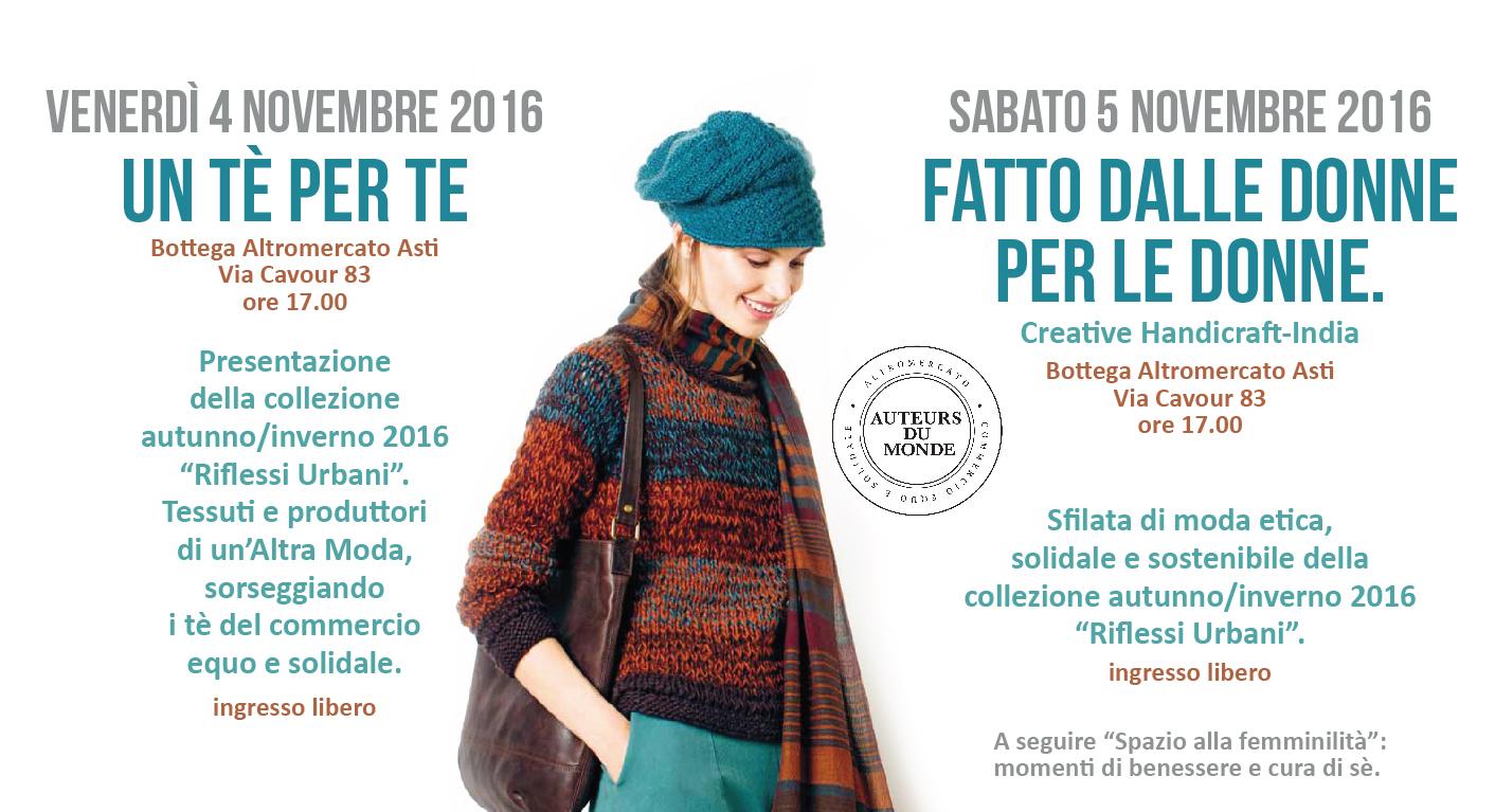Presentazione Della Collezione Auteurs Du Monde Autunno/inverno 2016: Sfilata Di Moda.