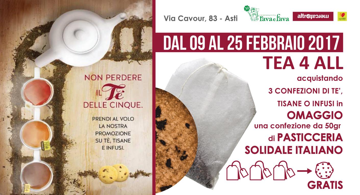 Promozione Tea4all Dal 9 Al 25 Febbraio