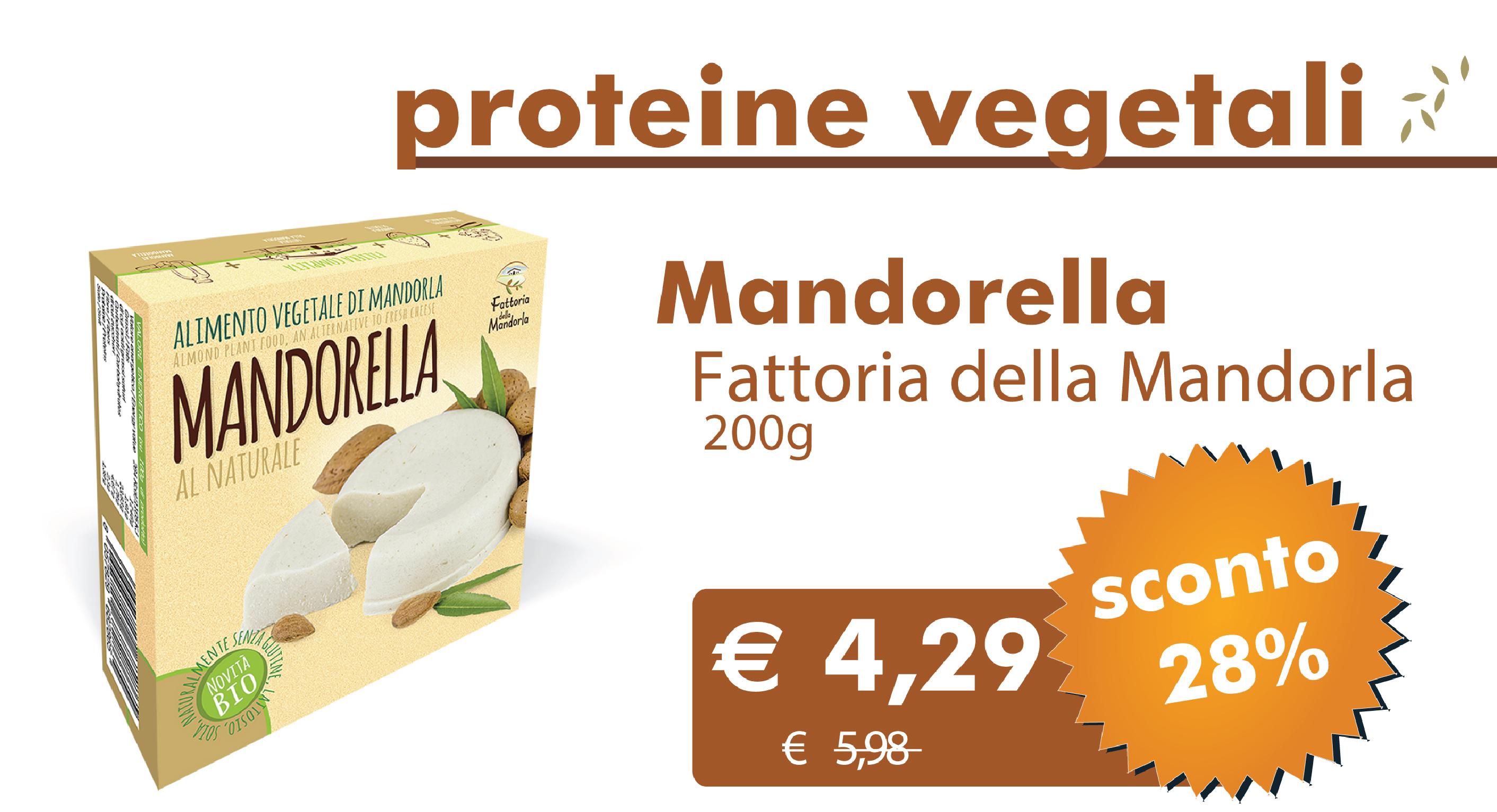 Offerte Bio Per Tutti Dal 1 Febbraio Al 29 Agosto: Mandorella