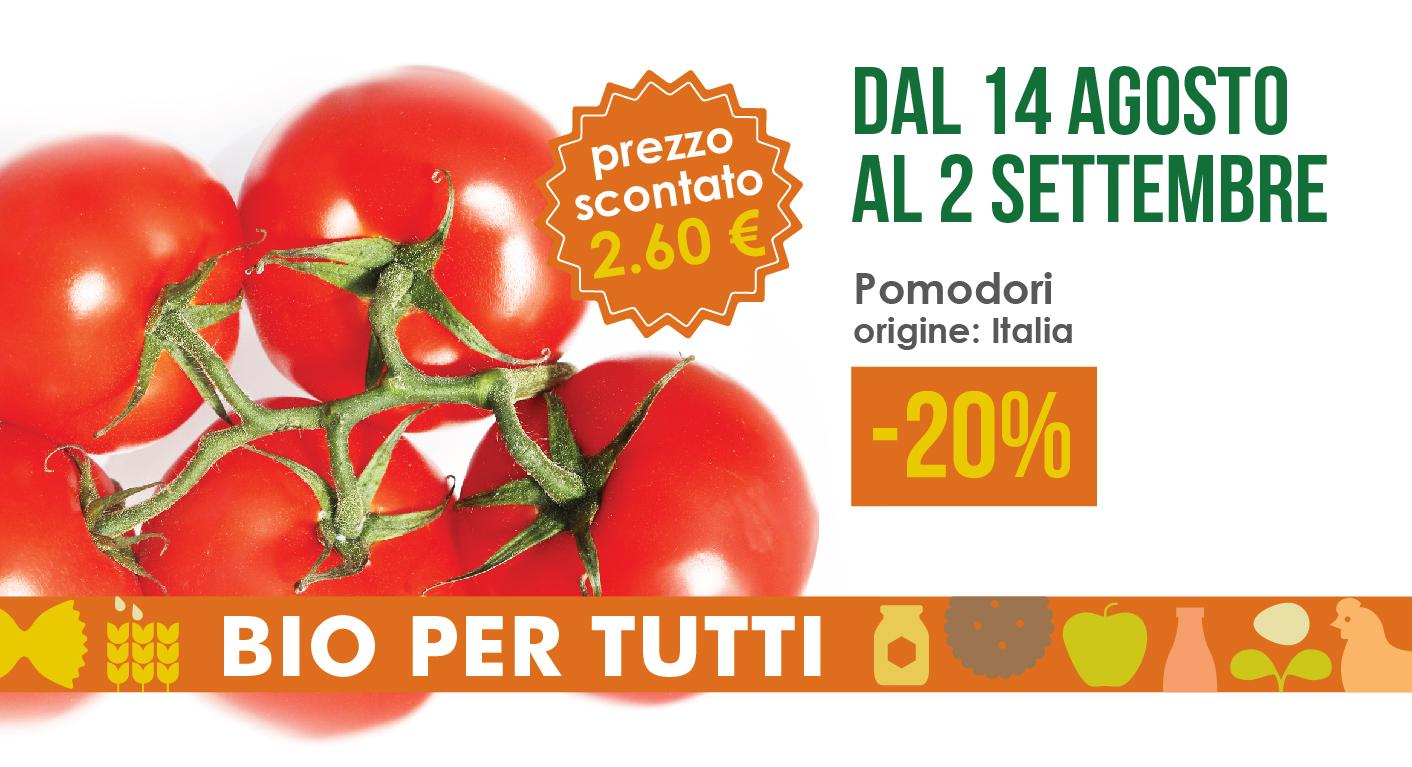 Offerte Bio Per Tutti Dal 14 Agosto Al 2 Settembre: Pomodori