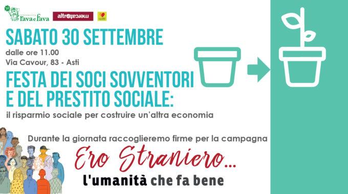 Festa Dei Soci Sovventori E Del Prestito Sociale: