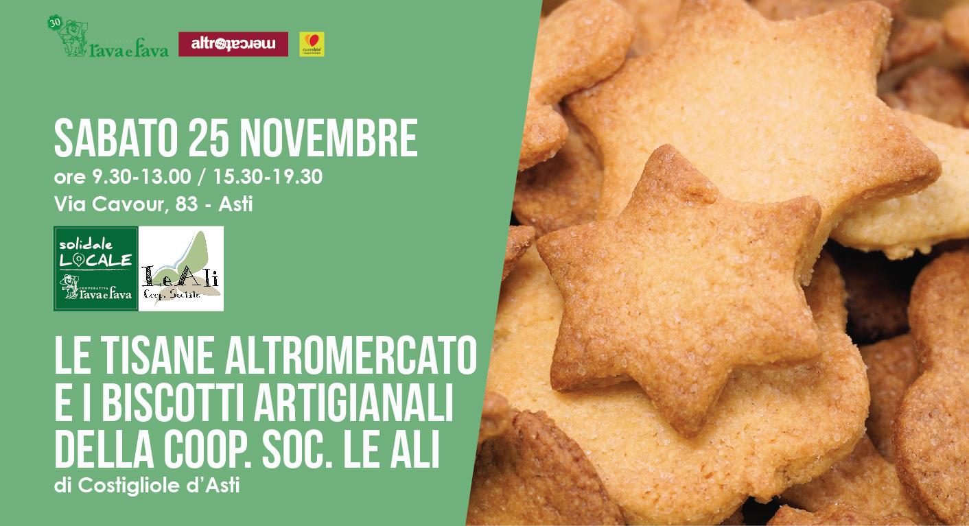 Le Tisane Altromercato E I Biscotti Artigianali Della Coop. Coc. Le Ali