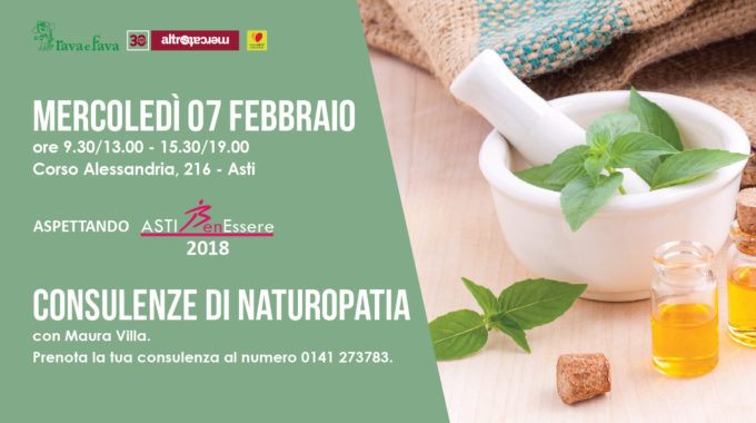 Consulenze Naturopatia 2018