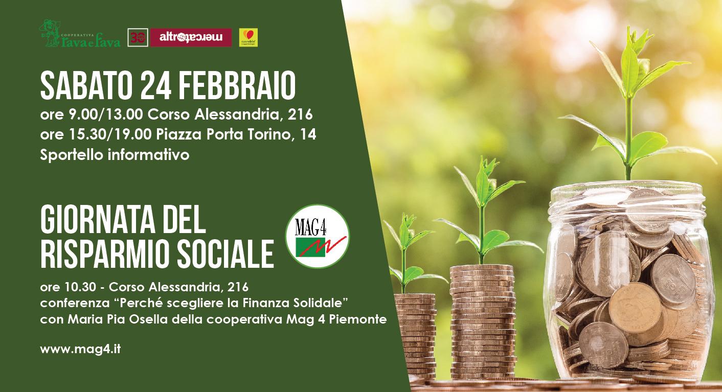 Giornata Del Risparmio Sociale