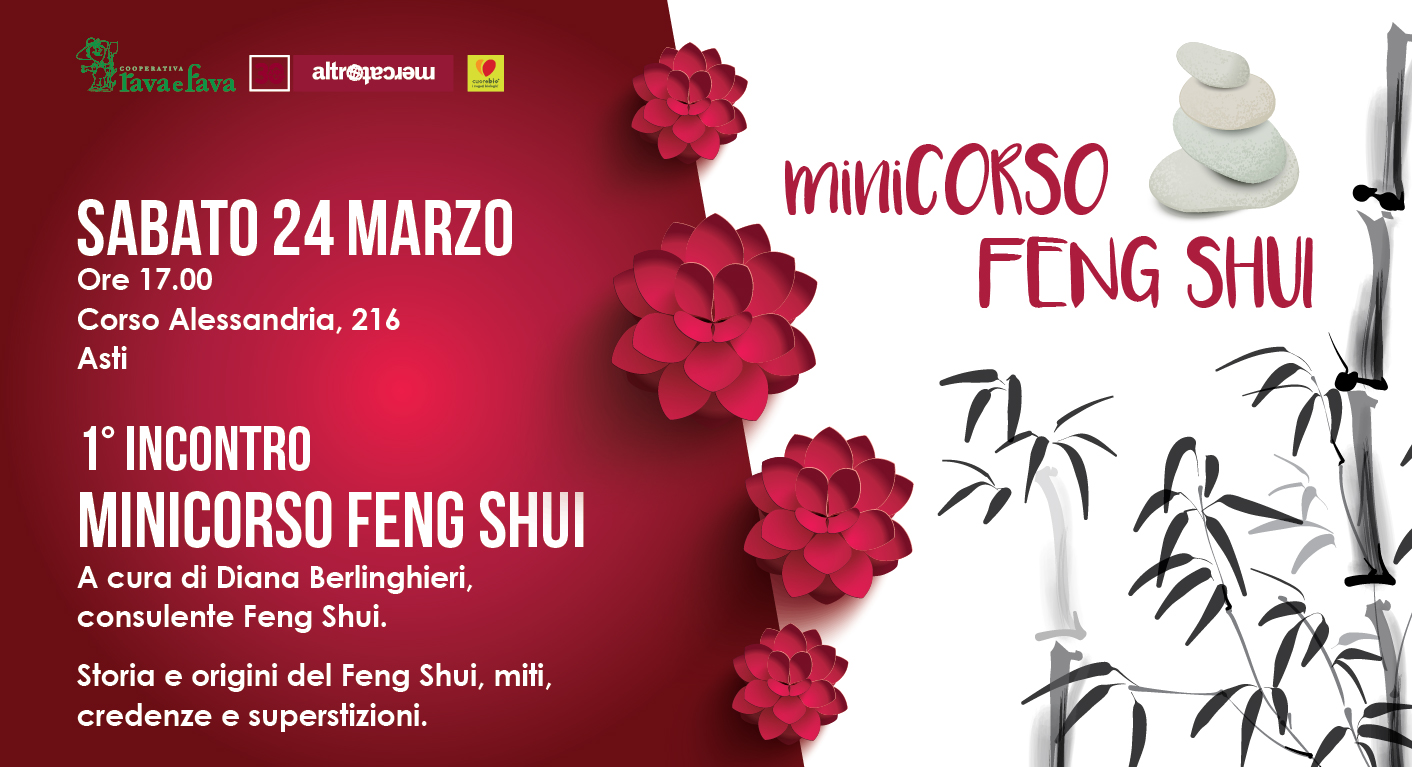 1° Incontro MiniCorso Feng Shui