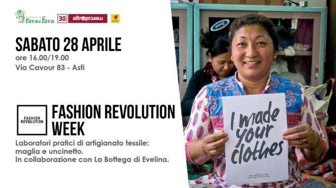 Laboratori Fashion Revolution Week