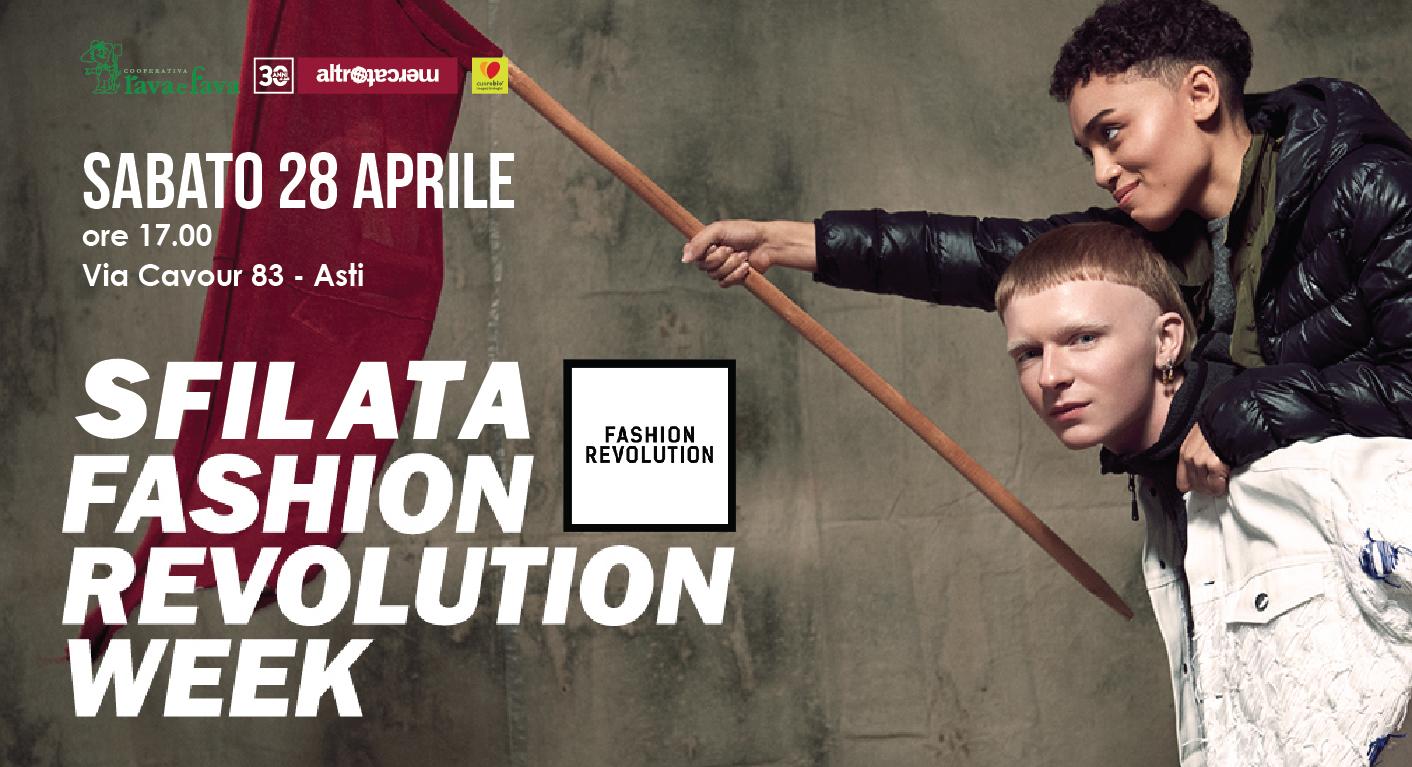 Sfilata Fashion Revolution Week