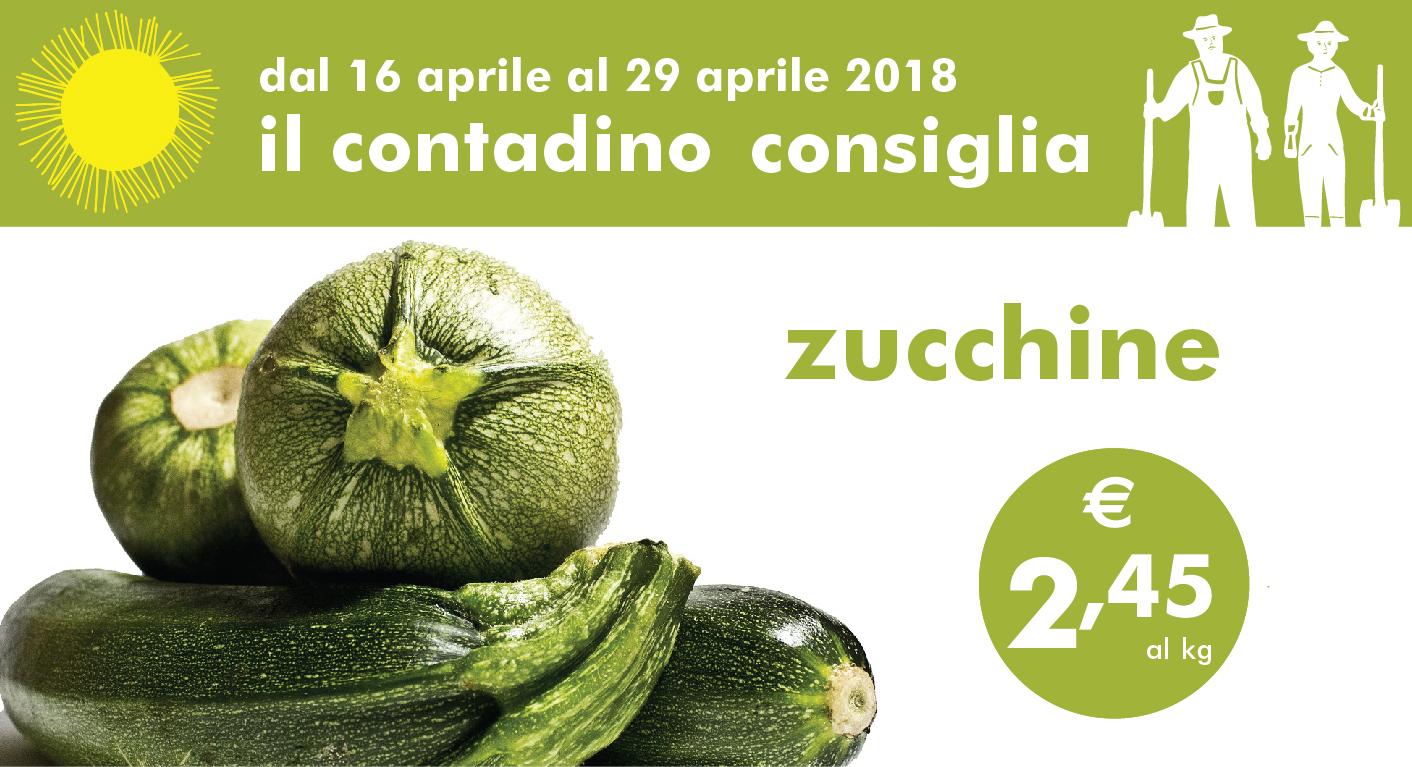 Il Contadino Consiglia: Zucchine