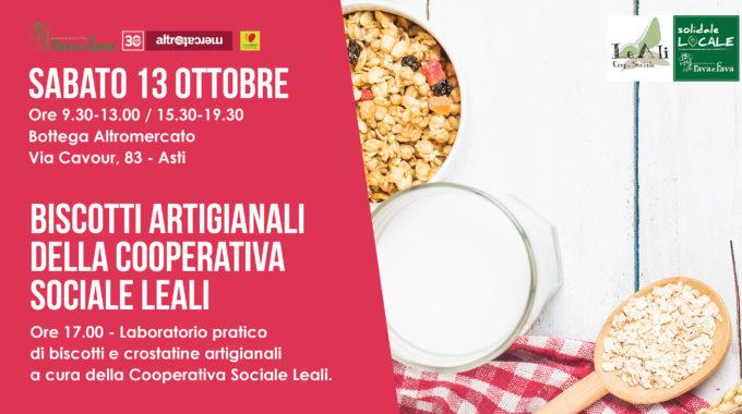 Biscotti Artigianali Della Cooperativa Sociale LeAli
