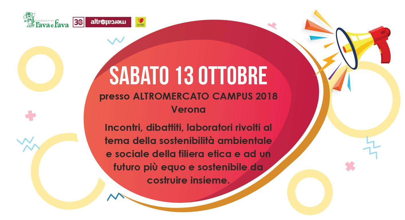 Altromercato Campus 2018