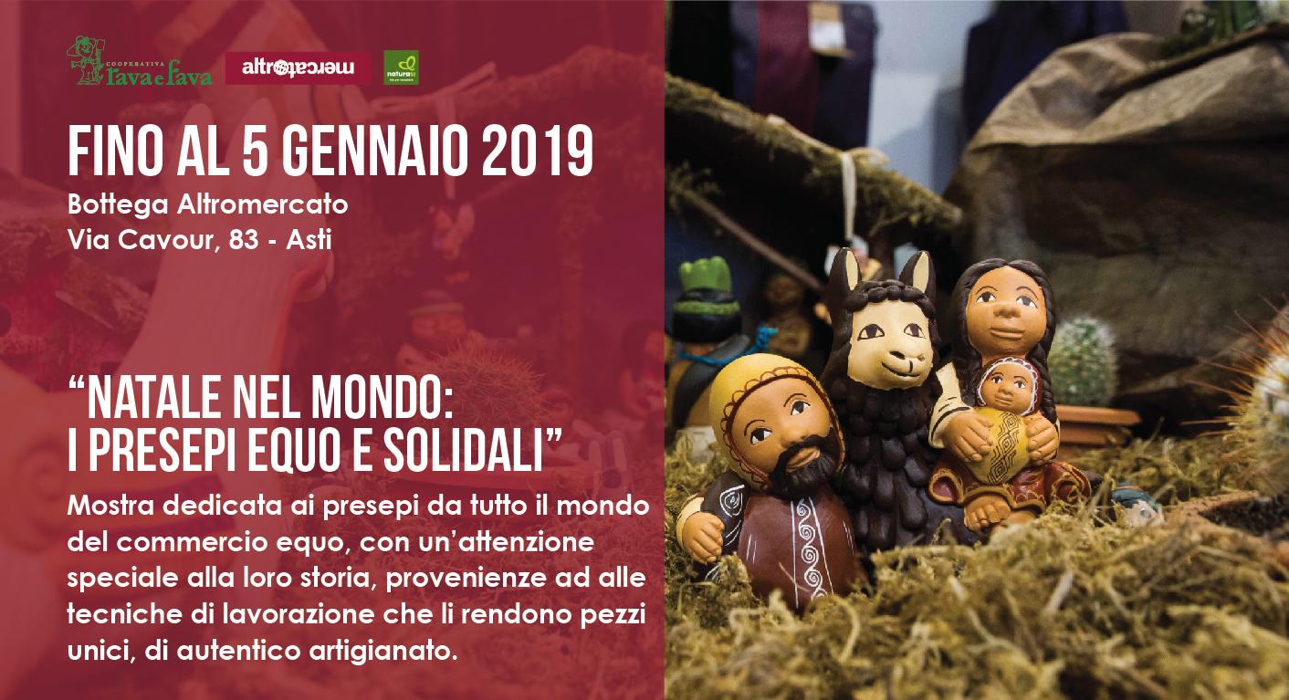 """""""Natale Nel Mondo: I Presepi Equo E Solidali"""""""