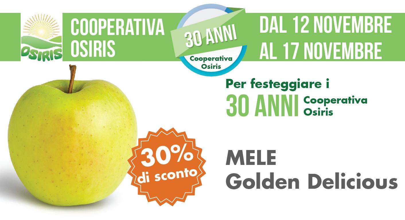 Promozione Ortofrutta: Mele Golden Delicious