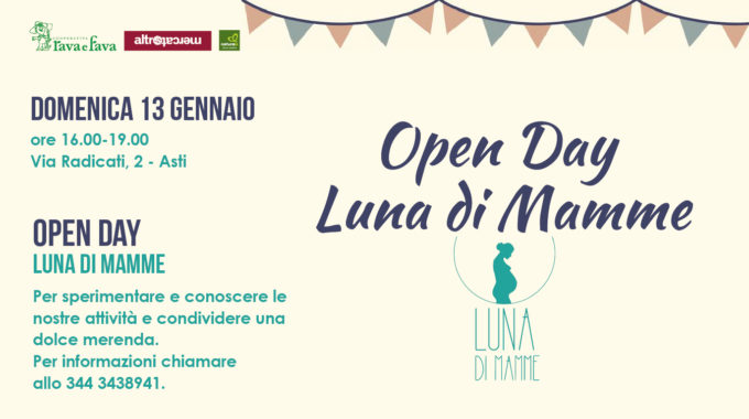 Open Day: Luna Di Mamme