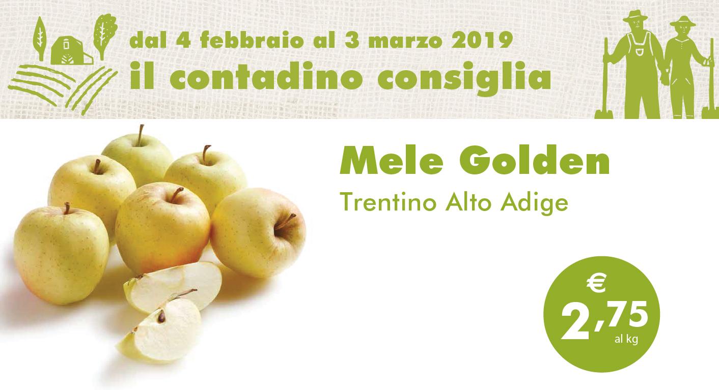Promozione Ortofrutta: Mele Golden