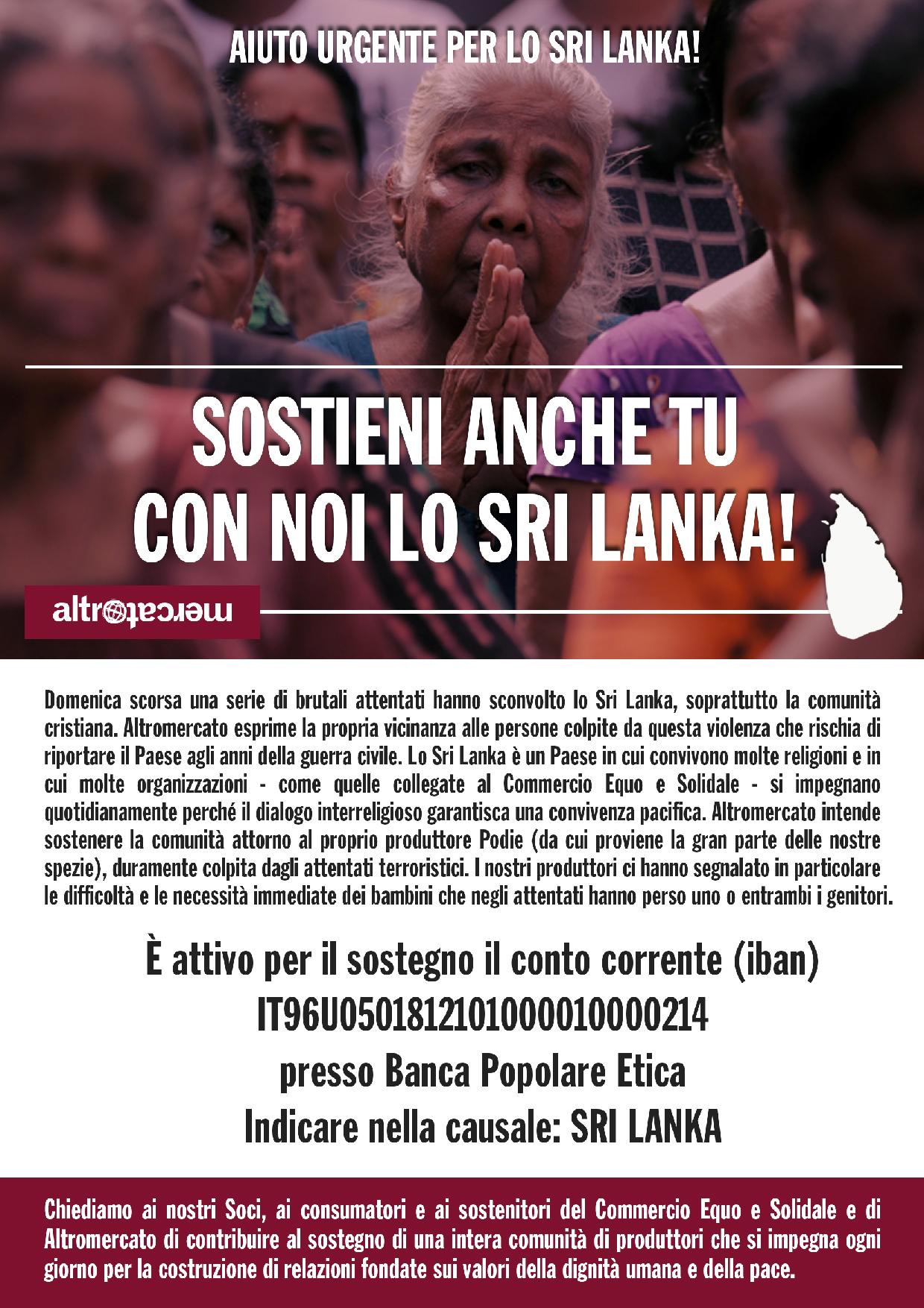 SOSTIENI LO SRI LANKA 30-04-2019 A4-01