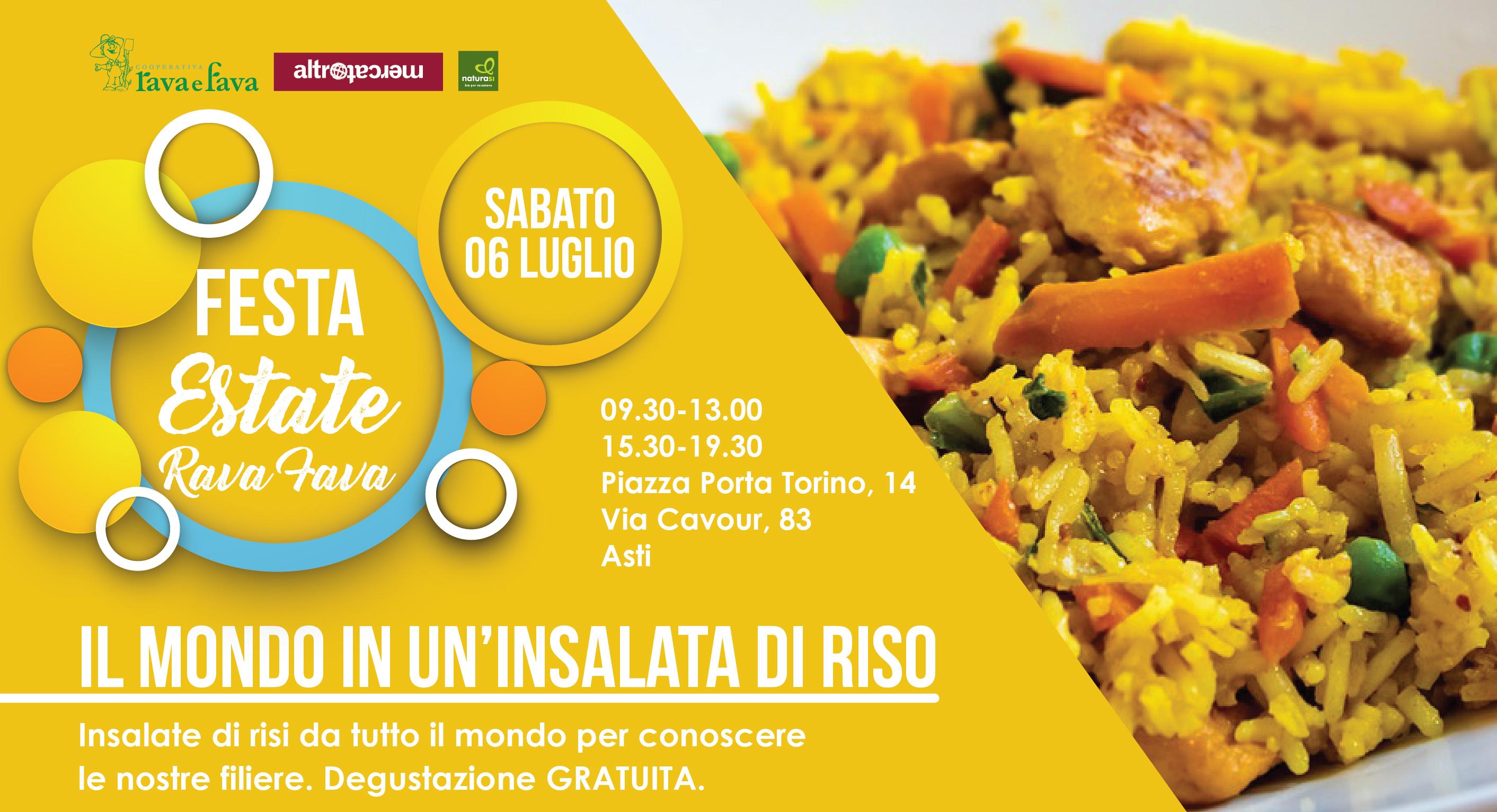 Festa Estate Rava Fava: Il Mondo In Un'insalata Di Riso