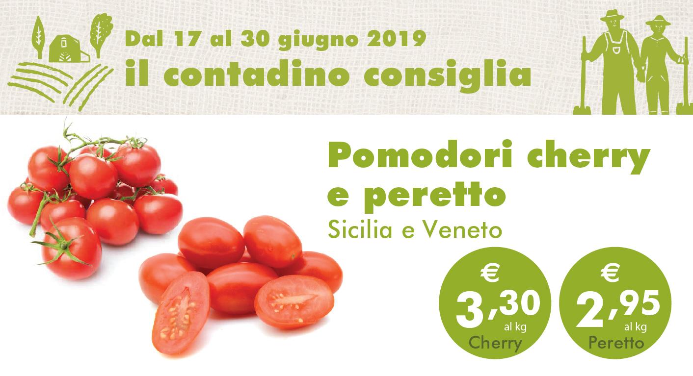 Promozione Ortofrutta: Pomodori Cherry E Peretto