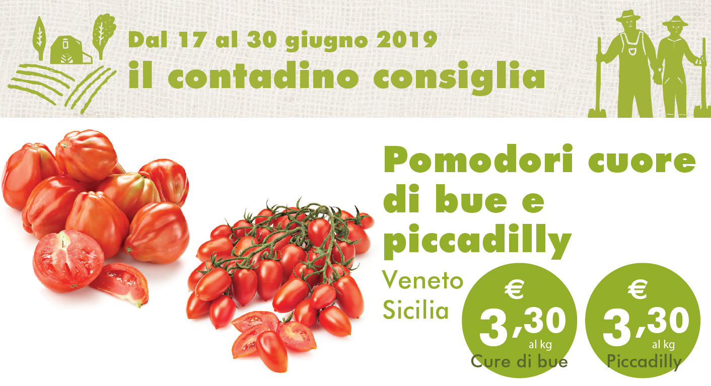 Promozione Ortofrutta: Pomodori Cuore Di Bue E Piccadilly