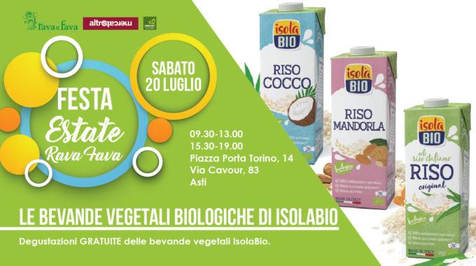 Festa Estate Rava Fava: Le Bevande Vegetali Biologiche Di Isolabio