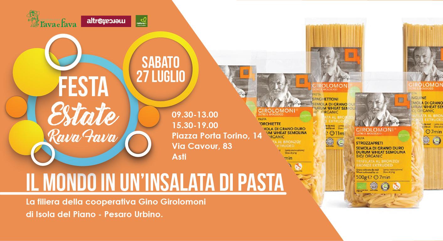 Festa Estate Rava Fava: Il Mondo In Un'insalata Di Pasta