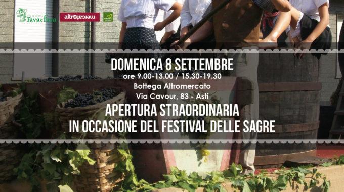 Apertura Straordinaria: Festival Delle Sagre