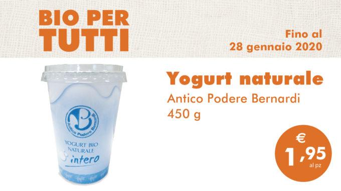 Bio Per Tutti: Yogurt Naturale