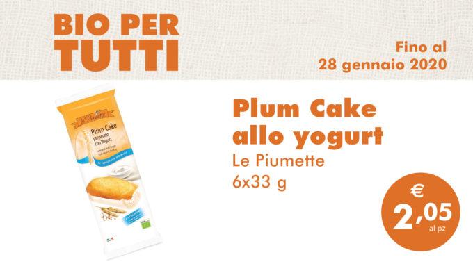 Bio Per Tutti: Plum Cake Allo Yogurt
