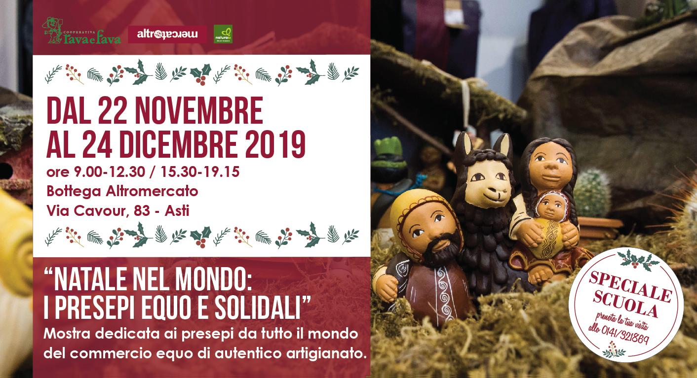 """Mostra Presepi  """"Natale Nel Mondo: I Presepi Equo E Solidali"""""""