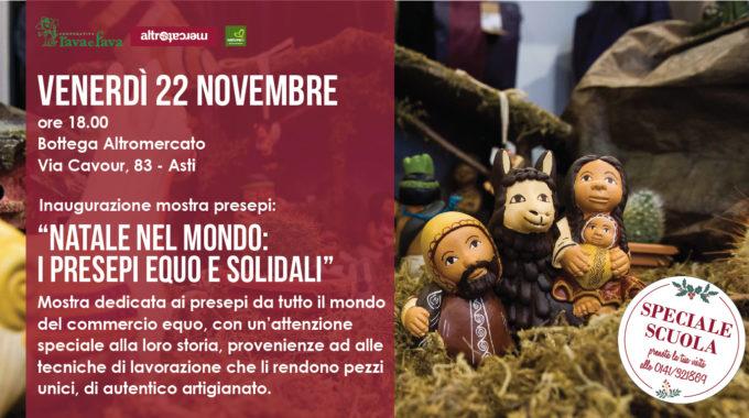 Natale Nel Mondo: I Presepi Equo E Solidali