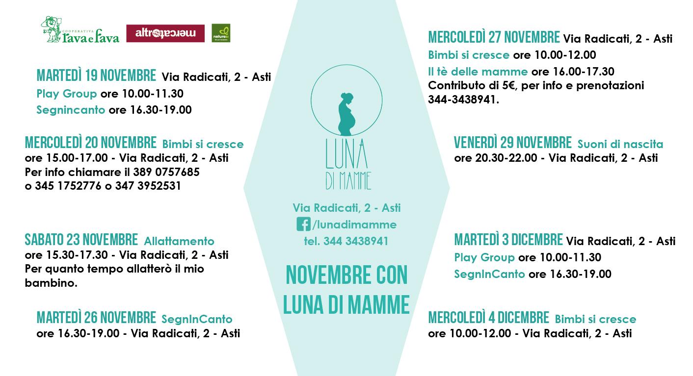 Novembre Con Luna Di Mamme