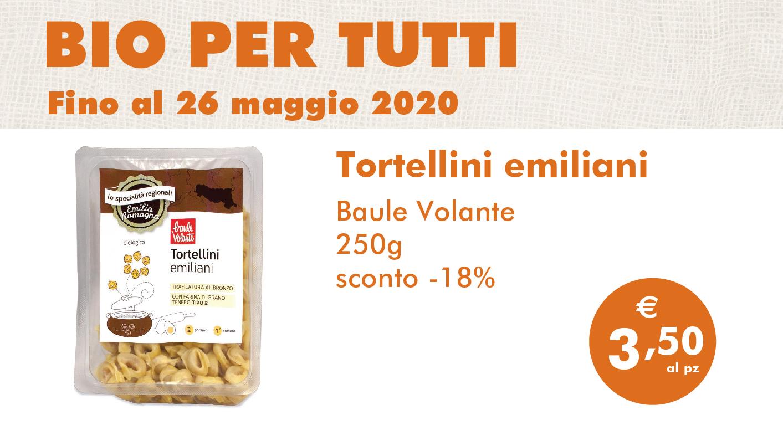 Bio Per Tutti: Tortellini Emiliani