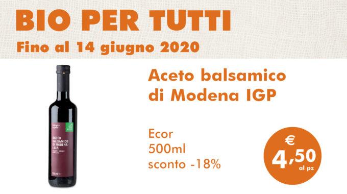 Bio Per Tutti: Aceto Balsamico Di Modena IGP