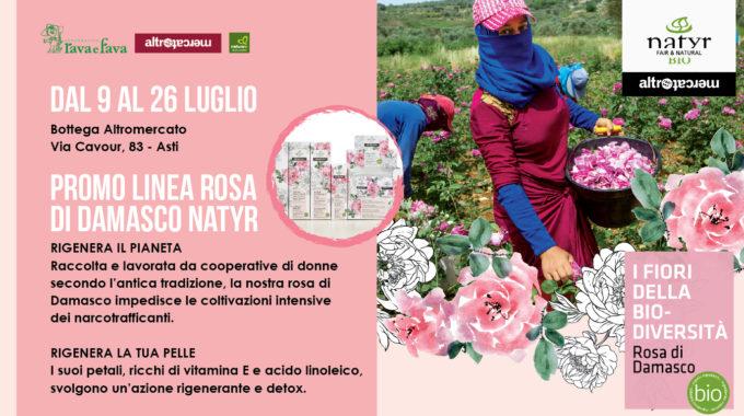 Promo Linea Rosa Di Damasco Natyr