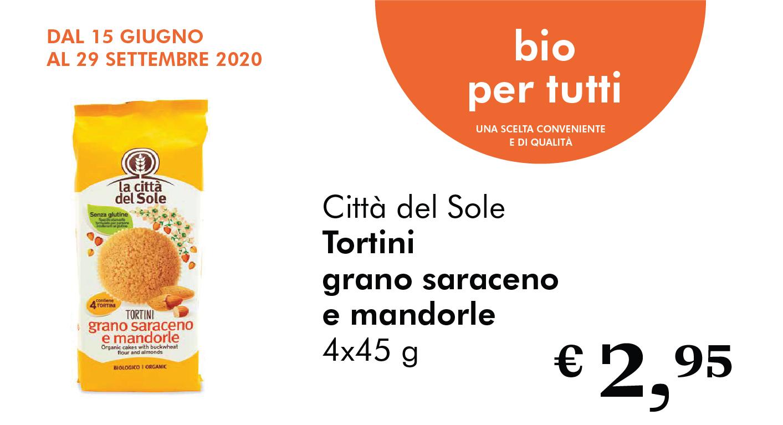 Bio Per Tutti: Tortini Di Grano Saraceno E Mandorle