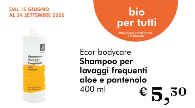 Bio Per Tutti: Shampoo Per Lavaggi Frequenti All'aloe E Pantenolo