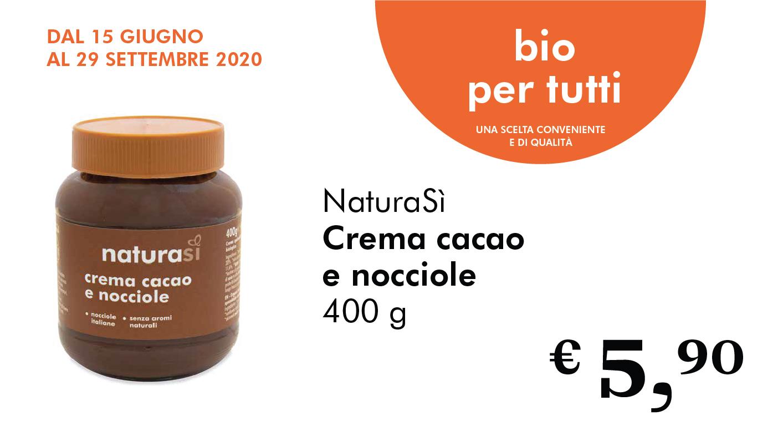 Bio Per Tutti: Crema Cacao E Nocciole