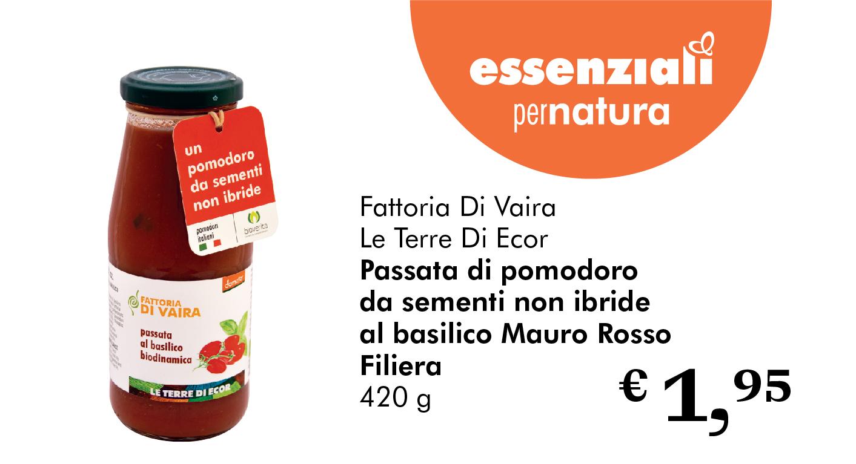 Essenziali Per Natura: Passata Di Pomodoro
