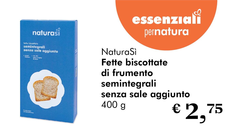 Essenziali Per Natura: Fette Biscottate