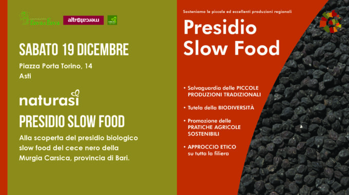Presidio Slow Food: Cece Nero
