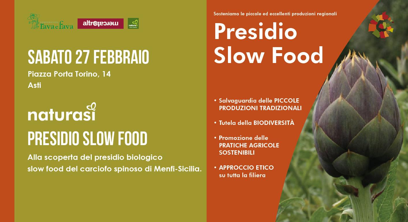 Presidio Slow Food: Carciofo Spinoso