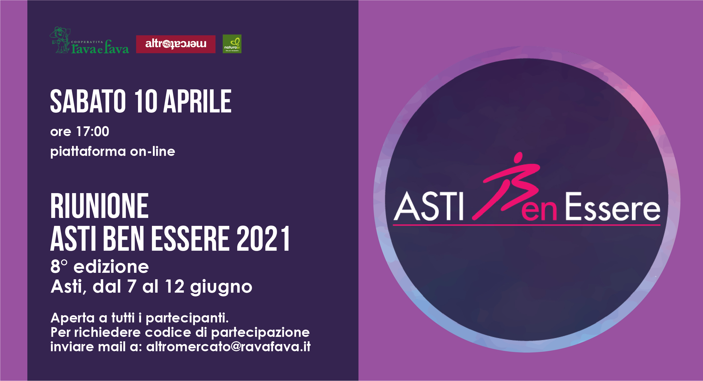 Riunione Asti Ben Essere 2021