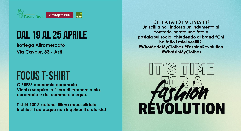 Fashion Revolution: T-shirt