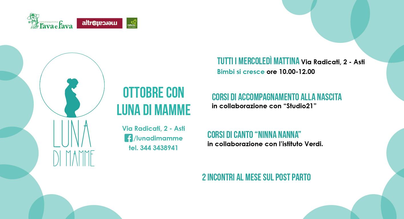 Ottobre Con Luna Di Mamme